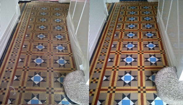 Victorian and minton floor cleanng
