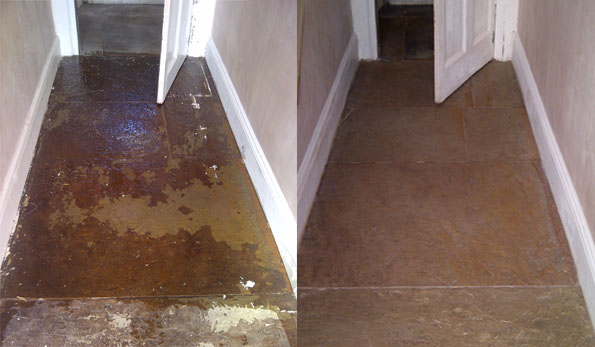 flagstone cleaning ans restoration