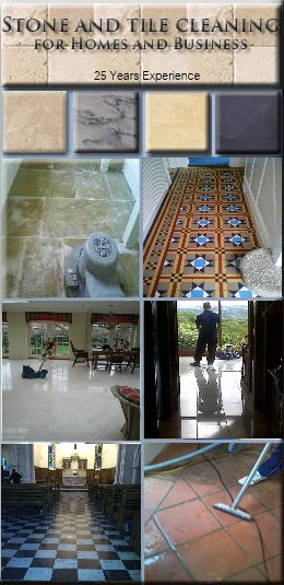 Stone floor cleaning in Nottingham Derby Sheffield Warwick Lincoln Leicester Stafford Rotherham