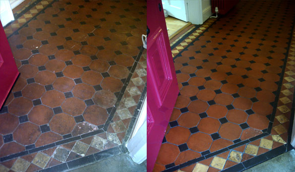 The Park Nottingham Victorian floor cleaning